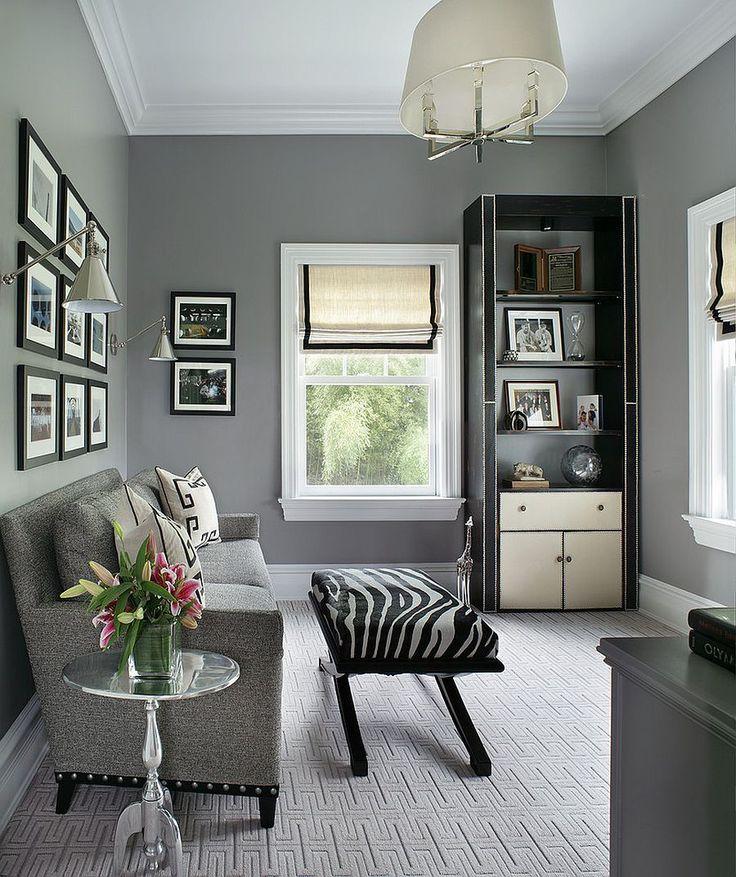 94 best office design images on pinterest Gray office ideas