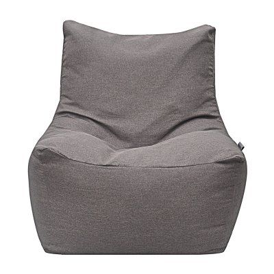 Modern Bean Bag Quicksand Medium Bean Bag Chair Grey Linen - MBB1339L - GREY LIN