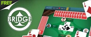 Bridge #CardGame   It's not always easy to get your friends together for a game of Bridge these days. Thankfully, now you can play online Bridge any time you want with this meticulously crafted version! Team up with a computerized partner and pit your Bridge skills against two clever AI opponents in this version of the classic card game. #WildTangent