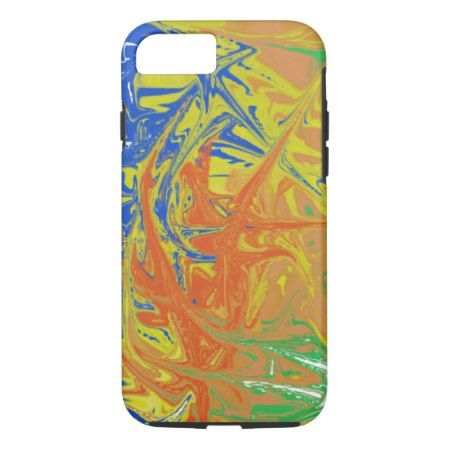 Chaotic and ugly pattern iPhone 7 case - click/tap to personalize and buy