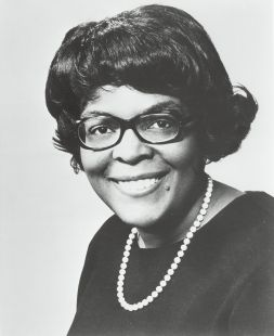 Elected to 12 consecutive terms in the U.S. House of Representatives, Cardiss Collins ranks as one of the longest–serving minority women in the history of Congress. Succeeding her late husband, Representative George Collins, after his death in 1972, Cardiss Collins continued his legacy as a loyal politician in the Chicago Democratic organization directed by Mayor Richard Daley. One of only a handful of women to serve in Congress for more than 20 years, and the only black woman in the chamber…