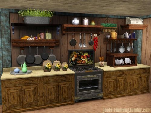 17 best images about sims 3 on pinterest water house for Sims 3 kitchen ideas