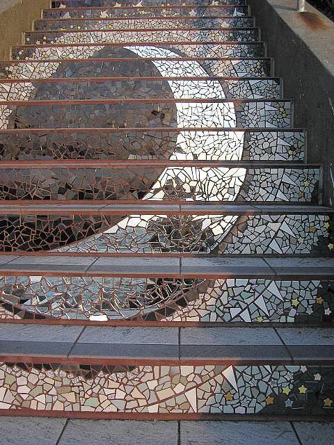 San Francisco stairs: