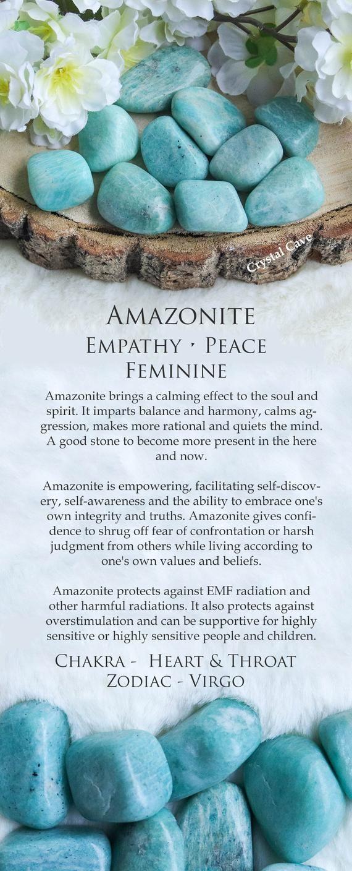 Amazonite Crystal Tumbled Stone Polished Stone Gemstone
