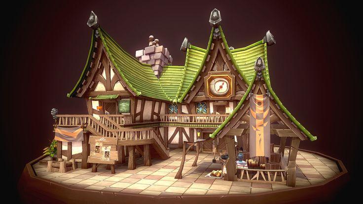 3D portfolio, Rinsil Park on ArtStation at https://www.artstation.com/artwork/YJ1kP