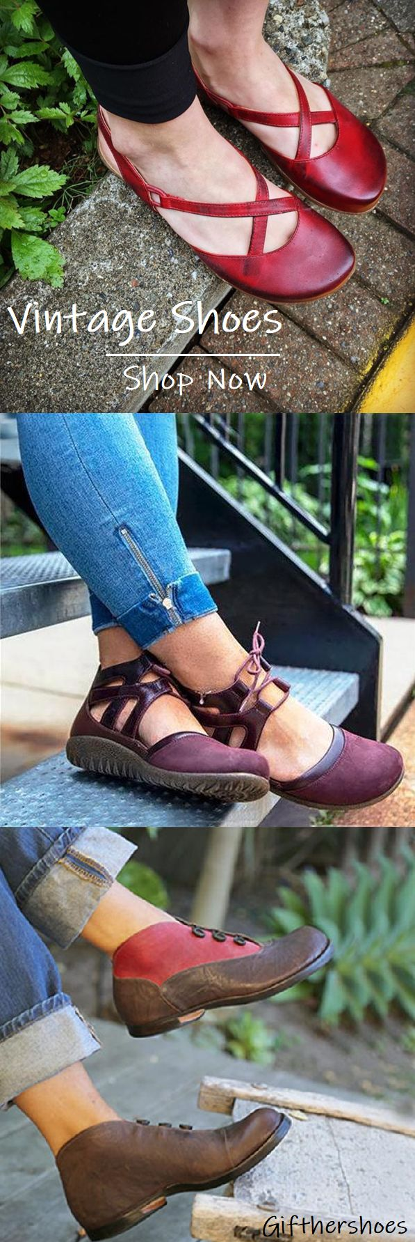 SHOP NOW>>20+ Comfy Vintage Flat Shoes for Your Daily Outfits.Must Have It!