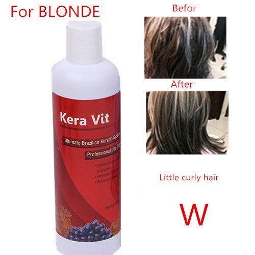 500ml Hot sale keratin straightening for hair Brazilian keratin hair treatment formalin 1.6% free shipping