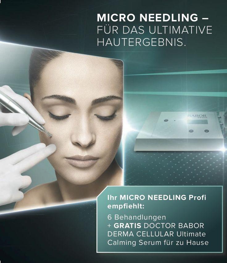 BABOR TEC micro needling Gesichtspflege Apparative Kosmetik
