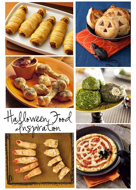 Halloween Food InspirationSpooky Food, Halloween Parties, Fingers Food, Food Ideas, Halloween Snacks, Halloween Foods, Halloween Treats, Halloween Ideas, Parties Food