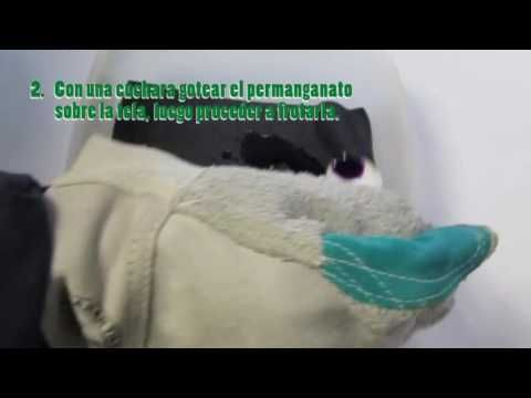 VIDEO PROCESO DE FOCALIZADO CON PERMANGANATO – Experimentacion textil artesanal