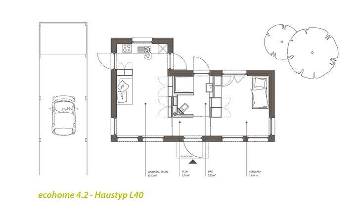 Singlehaus Typ L40
