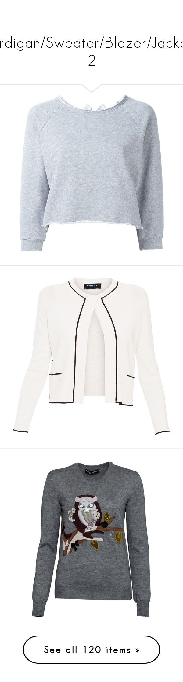 cardigan sweater blazer jacket 2 by lalittaaristha liked on polyvore