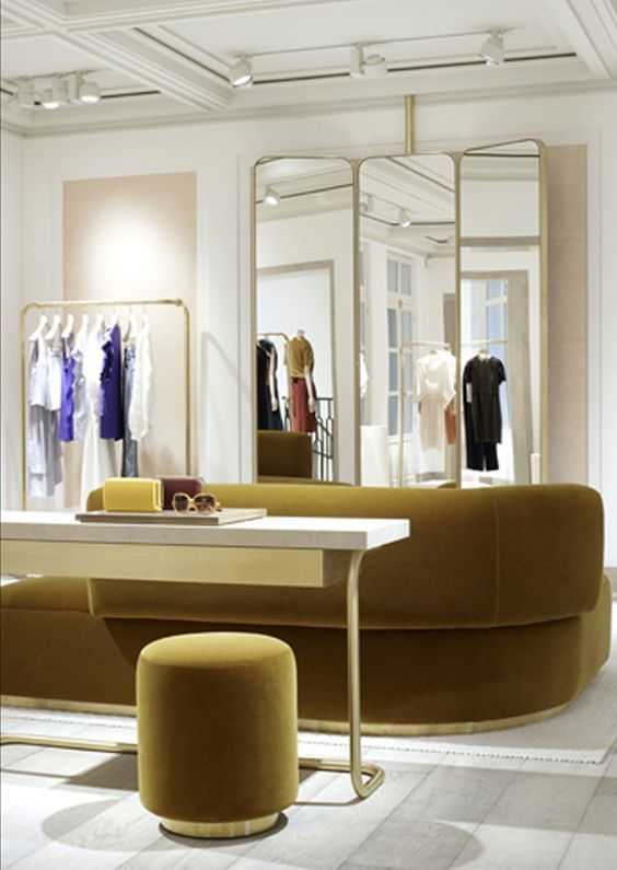 Chloe Store, Paris Joseph Dirand | Retail Interior Design, Retail Design #luxuryretailstores #retailfurniture #retailinteriordesign See more retail projects http://brabbucontract.com/projects