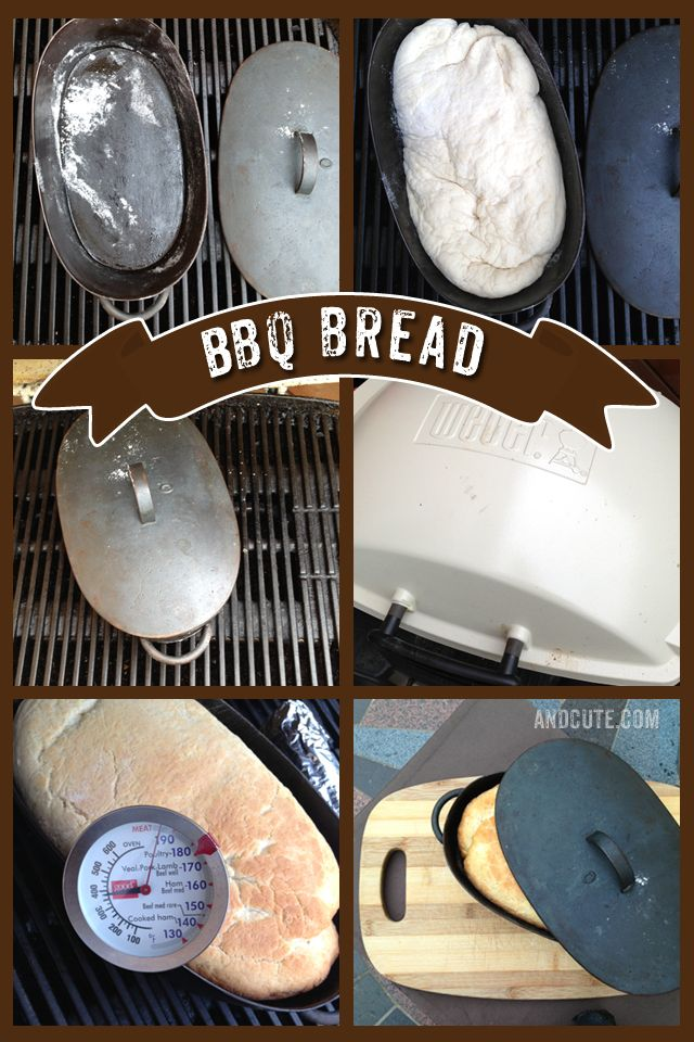 How to make Bread on the BBQ - when the boys want sandwiches for lunch and I don't want to turn the oven on in the hot heat!