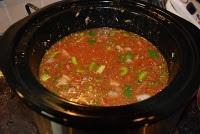 Crock Pot Stuffed Green Pepper Soup