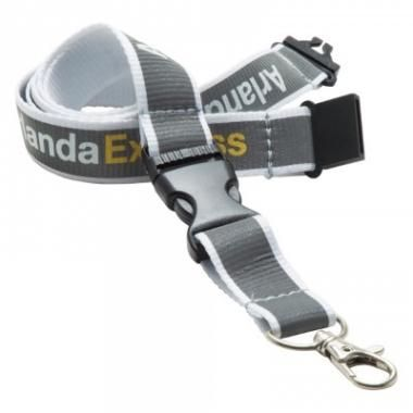Promotional Reflective Polyester Lanyards 15mm :: Lanyards :: Promo-Brand Merchandise :: Promotional Branded Merchandise Promotional Products l Promotional Items l Corporate Branding l Promotional Branded Merchandise Promotional Branded Products London