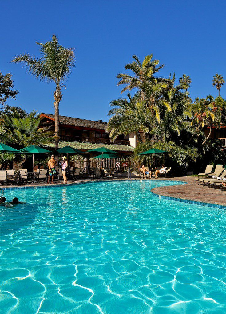 Catamaran resort San Diego pool. Perfect for a weekend getaway!