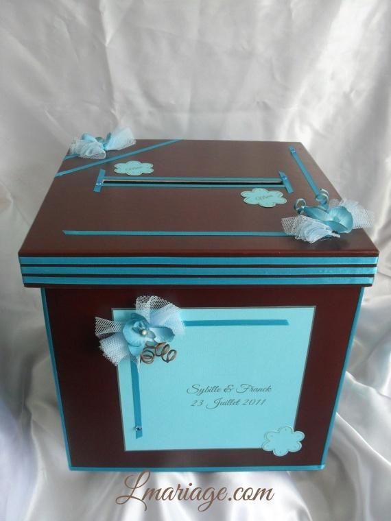 ... grandes boites décoration bleu coloré turquoise turquoise chocolat