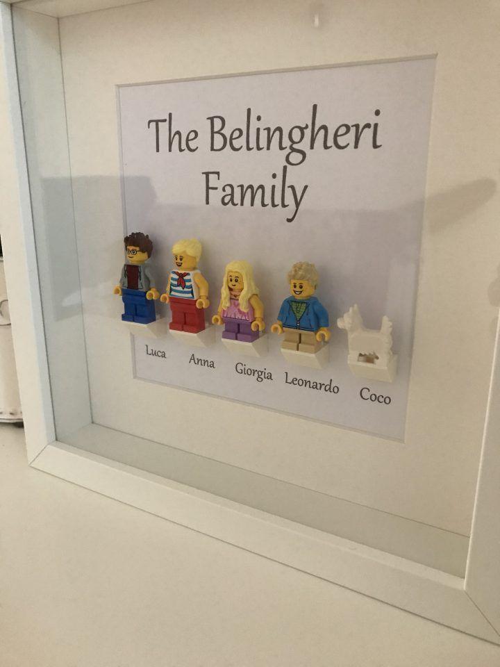 Idee Regalo Natale Famiglia.Idea Regalo Di Natale Famiglia Lego Personalizzata Ale