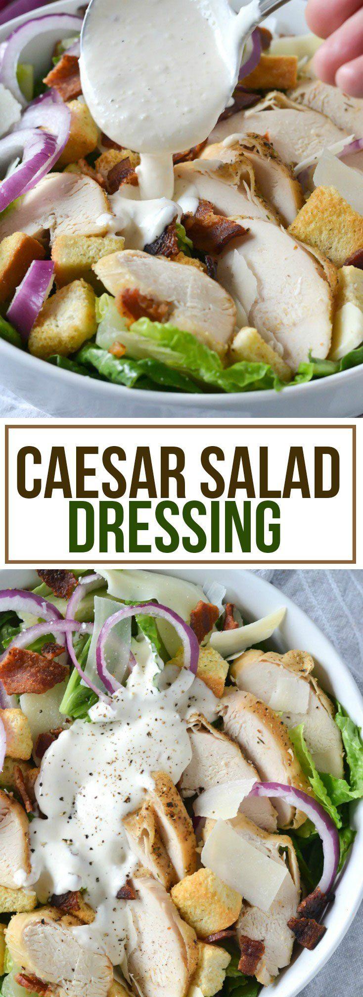 Easy classic ceasar salad dressing recipes