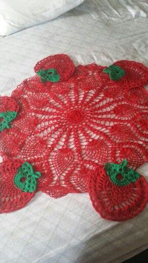 Strawberries crochet