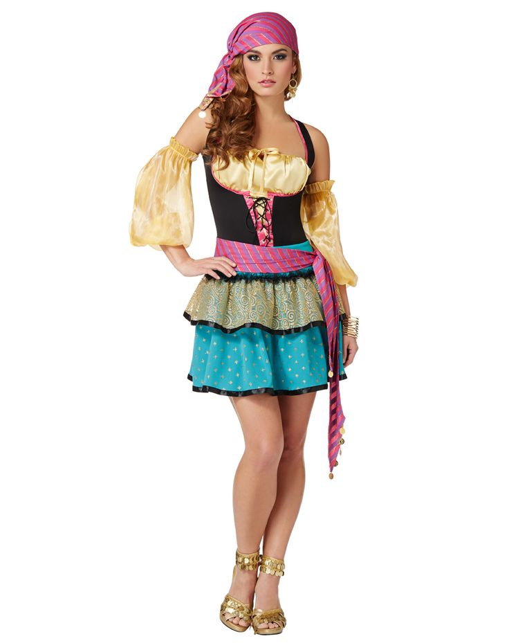 Magical Gypsy Adult Womens Costume – Spirit Halloween