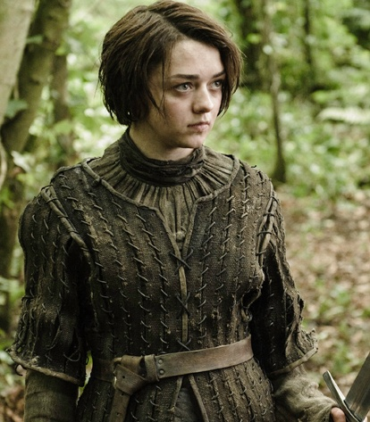 """Swift as a deer. Quiet as a shadow. Fear cuts deeper than swords. Quick as a snake. Calm as still water."" -Arya Stark"