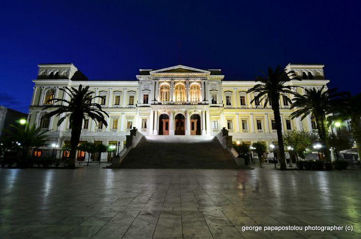 TOWN HALL  ΕRMOUPOLIS by George Papapostolou on 500px