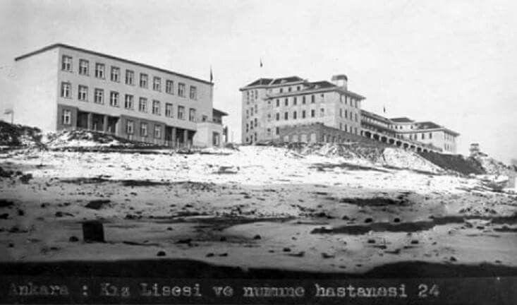Kız lisesi ve numune Hastahanesi 1933