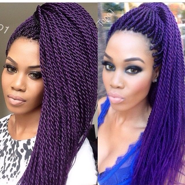 1000+ ideas about Senegalese Twists Purple on Pinterest ...