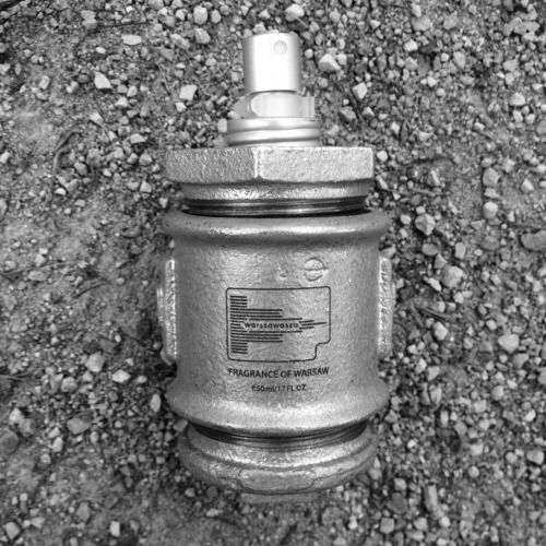 Fragrance of WARSZAWASZA  #fragrance #fragrancy #perfume #scent #design #bottle #cruet #perfumebottle #designbottle #fragrancebottle #package #designpackage #vintage #Polska #Poland #polanddesign #polish #polishdesign #Warszawa #Warsaw #warsawdesign #warszawasza #industrial