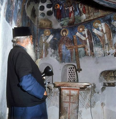 Saint Neophytos Monastery. Paphos, Cyprus