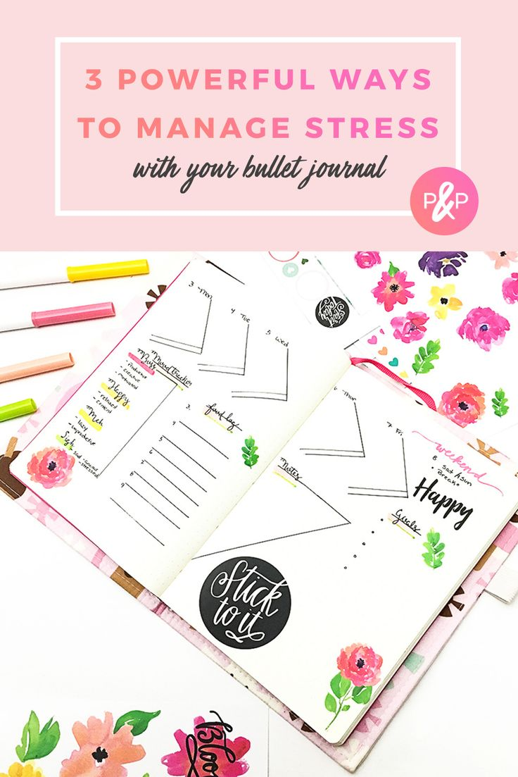 3 Powerful Ways to Use Your Bullet Journal for Stress http://productiveandpretty.com/bullet-journal-for-stress/?utm_campaign=coschedule&utm_source=pinterest&utm_medium=Jennifer%20Grayeb&utm_content=3%20Powerful%20Ways%20to%20Use%20Your%20Bullet%20Journal%20for%20Stress