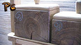 Designer Handbag made of oak. Дизайнерская сумочка из дуба. - YouTube