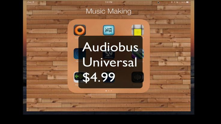Audiobus [iOS]. Audiobus is an amazing app that connects a