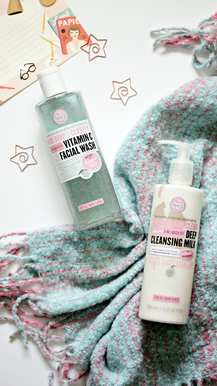The Soap & Glory Cleansers Soap and glory, Body skin