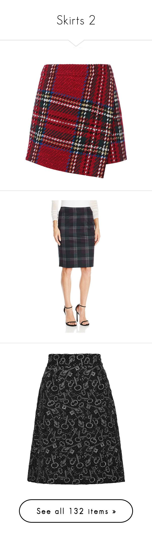 """""""Skirts 2"""" by noneedforfear ❤ liked on Polyvore featuring skirts, mini skirts, bottoms, red plaid mini skirt, plaid skort, red tartan mini skirt, pocket skirt, golf skirts, nine west skirts and nine west"""