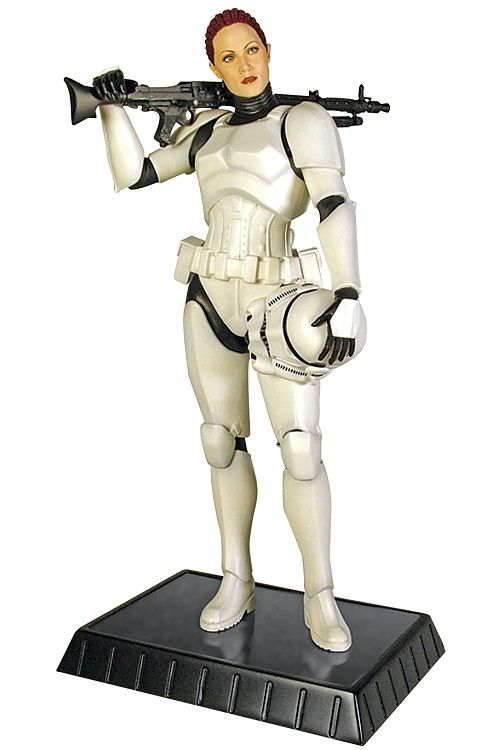 Star Wars Female Stormtrooper - Totally how I want women to be portrayed in video games - incredibly powerful and confident.