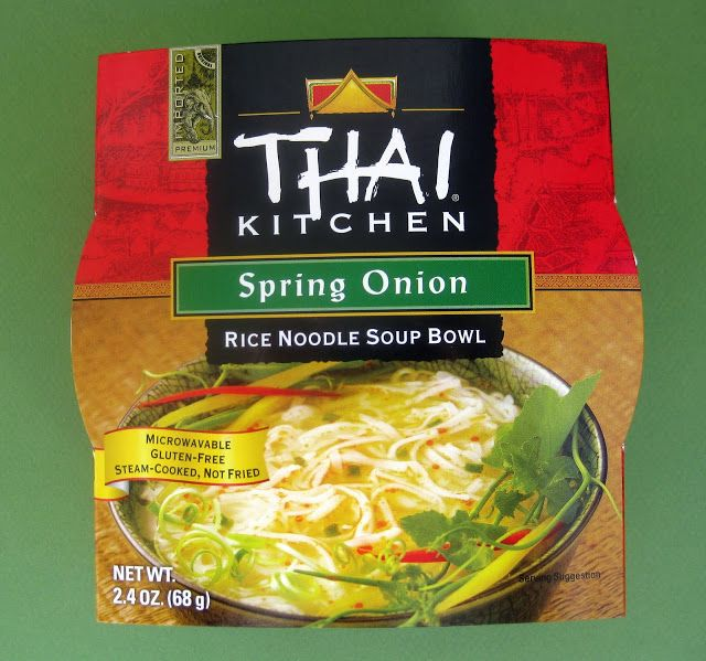 Thai Kitchen Gluten Free Spring Onion Rice Noodle Soup Bowl