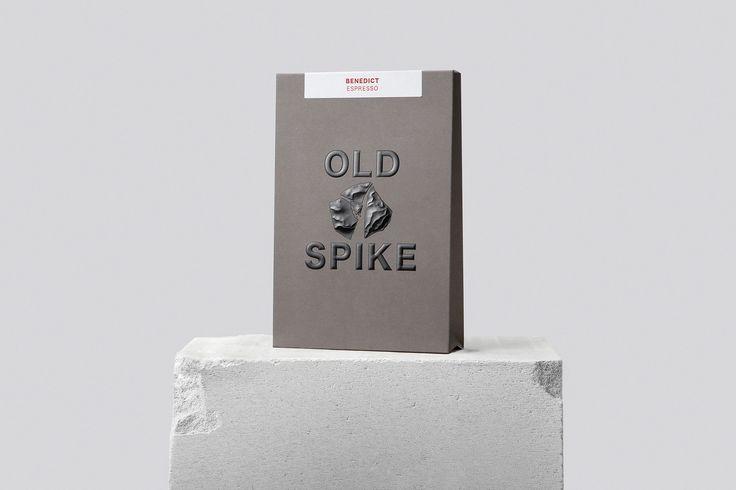 Coffee Branding & Packaging – Old Spike Coffee by Commission Studio, United Kingdom
