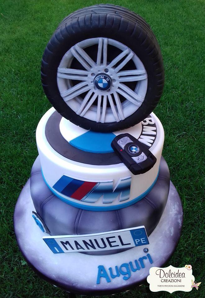 Torta Bmw Bmw Car Cake Birthday Desserts Bmw Cake