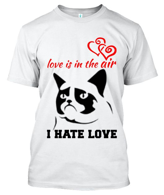 A t-shirt for all the scrooge's of valentines day. (don't worry i happen to be on of them) Send a message to everyone with this tshirt that you just won't stand for any of that lovey-dovey BULLSHIT!