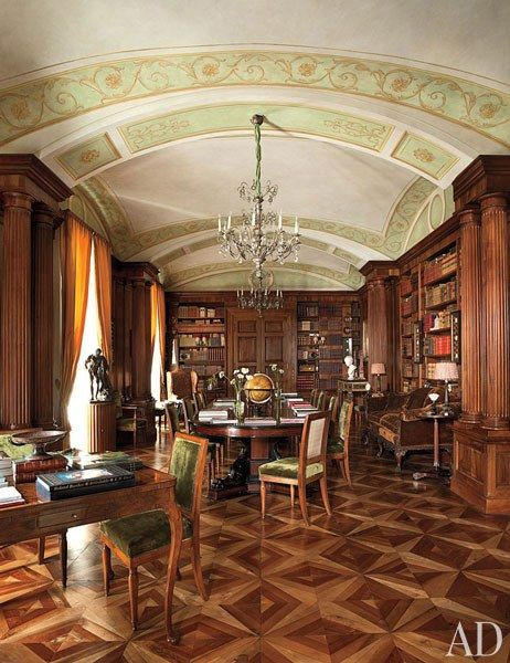 Look Inside A Luxurious Apartment In Naples With Plenty Of Old World Charm.  Rome ApartmentParis ApartmentsNaples ItalyFamous Interior DesignersVaulted  ...