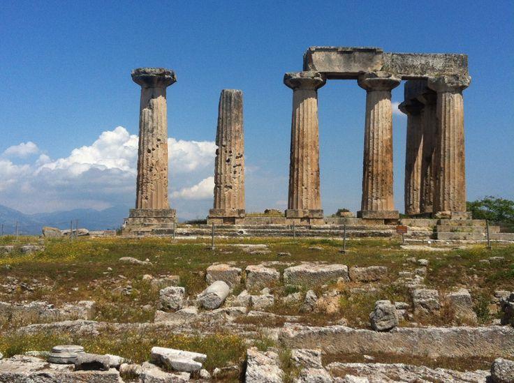 Ancient Korinthos, Greece