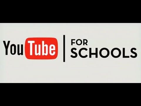 YouTube Education - For Schools - SUCH a great idea. Well done, YouTube.
