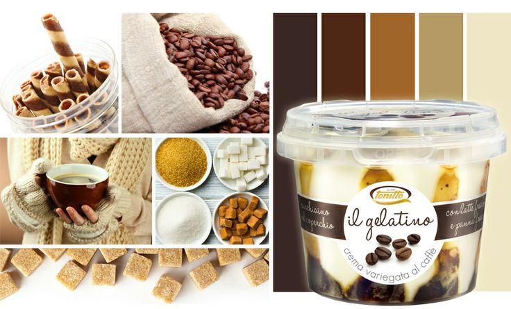 """""""Il gelatino"""" gusto Affogato al caffè - la monoporzione con cucchiaino che puoi gustare dove vuoi - by TONITTO"""