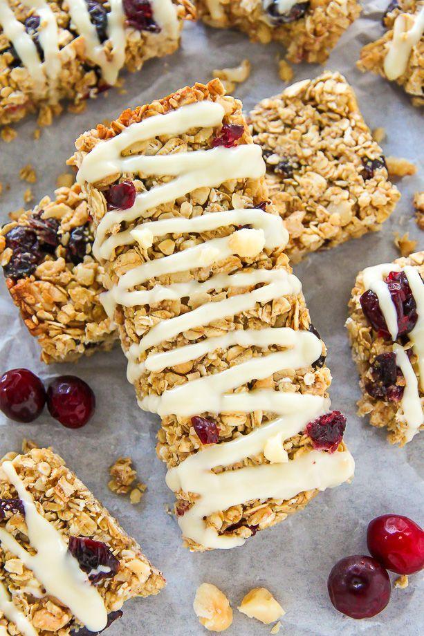 Granola bars, Granola and Cranberries on Pinterest