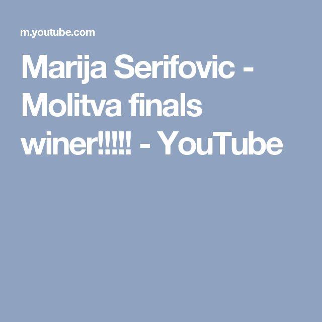 Marija Serifovic - Molitva finals winer!!!!! - YouTube