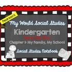 My World Social Studies Curriculum - Kindergarten