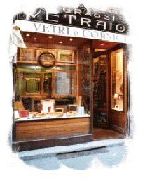Vetrina negozio CORNICI SU MISURA - CORNICI IN ALLUMINIO - CORNICI IN FOGLIA ORO - RESTAURO CORNICI - SCATOLE IN MATERIALE ACRILICO - VETRO MUSEALE http://www.milanomia.com/milano/cornici-milano.html